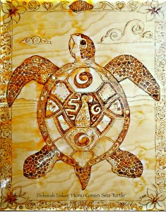 Honu Green Turtle by Tinker 12PC